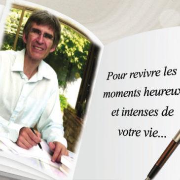Promo : Un écrivain-biographe positif, Christophe Tricart
