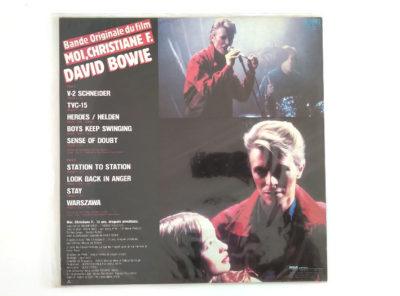 DAVID BOWIE – Bande Originale Du Film Moi, Christiane F. – 33T