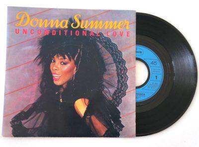 donna-summer-unconditional-love-45T