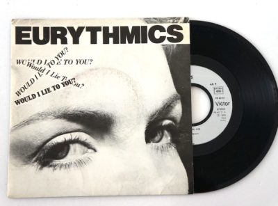 eurythmics-lie-45T