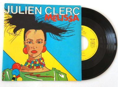 julien-clerc-melissa-45T