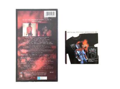 MICHAEL JACKSON – HIStory – Greatest Hits 1995 – VHS