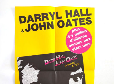 affiche-Hall-Oates-private-eyes