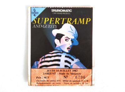 supertramp-ticket-concert-1983