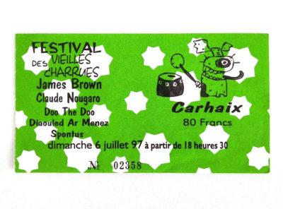 vieilles-charrues-ticket-concert-james-brown-1997
