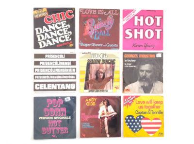 lot-vinyles-45T-1970-1980