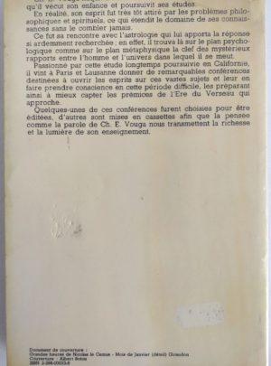 Une astrologie pour l'Ère du Verseau [1979] – CH.E. VOUGA