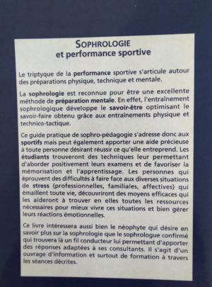 Sophrologie et performance sportive – Dr Edith PERREAUT-PIERRE