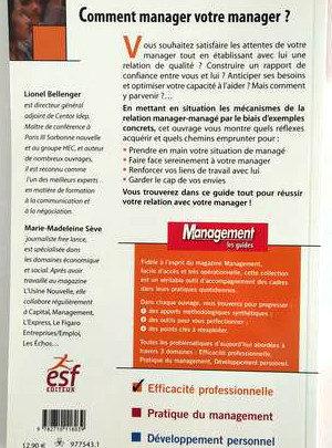 Comment manager votre manager ? – L. BELLANGER – M.M. SEVE