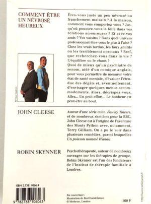 Comment être un névrosé heureux – John CLEESE – Robin SKYNNER
