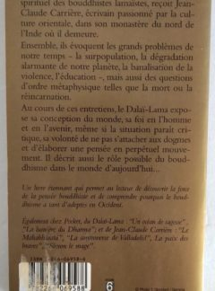 La force du Bouddhisme – S.S. Le Dalaï Lama – Jean Claude Carrière