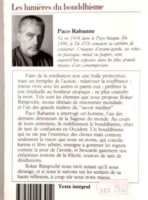 Les lumières du bouddhisme – Paco RABANNE