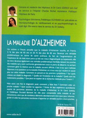 La maladie d'Alzheimer – Dr C. SZEKELY – F. OUVRARD
