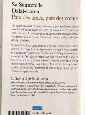 Paix des âmes, Paix des coeurs – S.S. Le Dalaï Lama