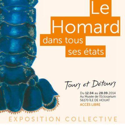 Affiche exposition homard eclosarium de houat 2014