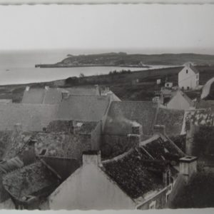 Vue des toits du Village et Vieux Port