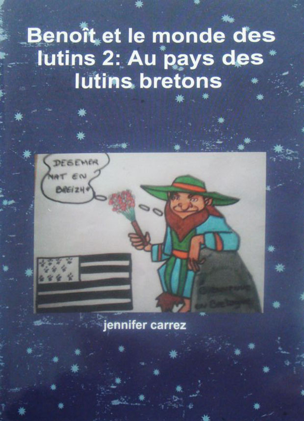 Jennifer Carrez Eymar Au pays des lutins bretons Livre