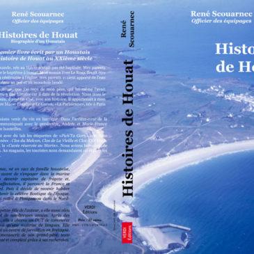 Livre Histoires de Houat Rene Scouarnec Couverture livre