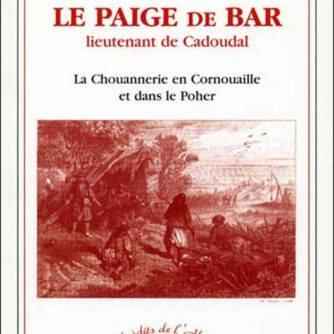 Le Paige de Bar, Montergont, lieutenant de Cadoudal