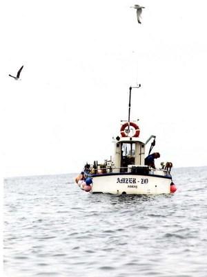 Amzer Zo, bateau de pêche de Jacques Le Hyaric
