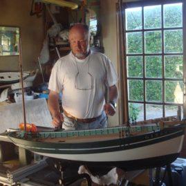 Benoit Le Roux Maquette de bateau Houat