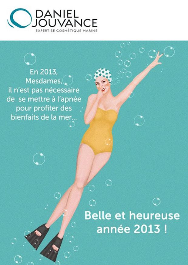 Carte voeux Daniel Jouvance 2013 Eloise Scouarnec