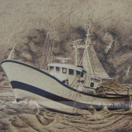 Navire peche Jean Michel Le Hyaric Houat