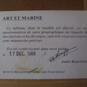 Art et Marine liege Houat
