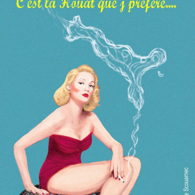 pin-up Houat carte creation Eloise Scouarnec