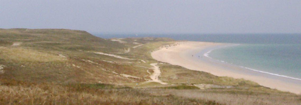 Houat La Grande Plage Le Tal Dunes