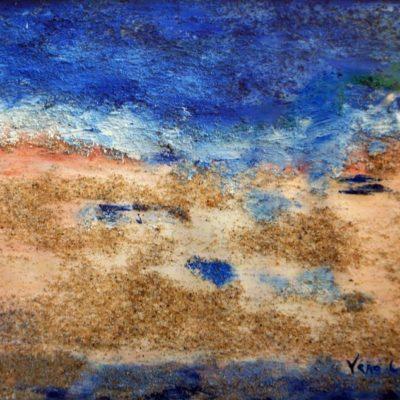 mer et sable à Houat Véronique Le Fur-Le Léannec