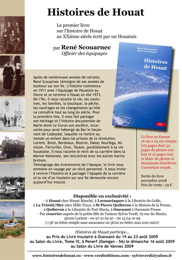 Histoires de Houat Le livre Mailing