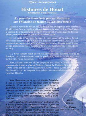 Histoires de Houat livre couverture verso