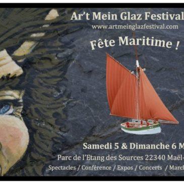 Benoît Le Roux à la grande fête maritime de Maël-Carhaix les 5 & 6 Mai 2018