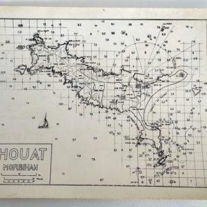 CP-Carte-Marine-HOUAT-Artaud-Grand-format-1972