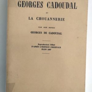 Cadoudal-Chouannerie-Neveu