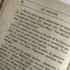 Le Ressac (1947) – Roger LE GRAND – Édition originale
