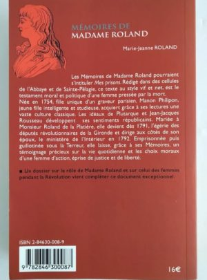 Madame-Roland-Memoires-1754-1793-1