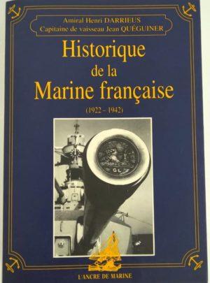 historique-marine-francaise-1922-1942-DARRIEUS-QUEGUINER