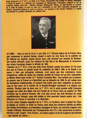 La 1ère DFL Les Français Libres au combat – Yves GRAS