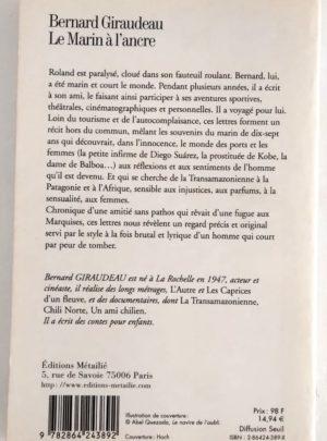 Le marin à l'ancre – Bernard GIRAUDEAU