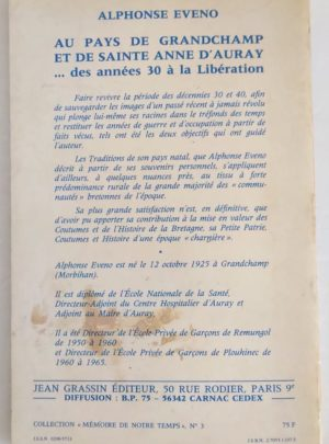 Eveno-Pays-grandchamp-sainte-anne-auray-1930-liberation-1
