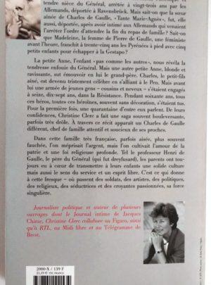 Les De Gaulle une famille française – Christine CLERC