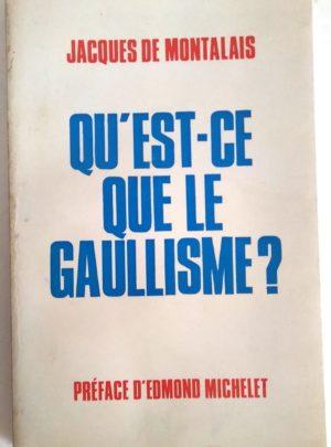 montalais-gaullisme