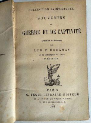 souvenirs-guerre-captivite-france-prusse-damas-1878-1