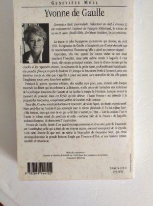 Yvonne De Gaulle – Geneviève MOLL