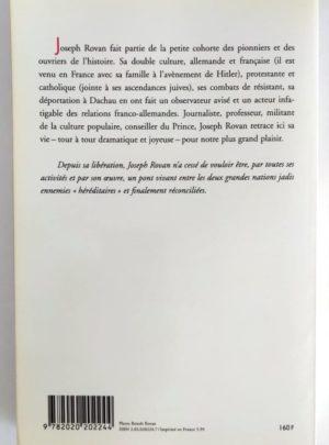 Mémoires d'un français qui se souvient d'avoir été allemand – J. ROVAN