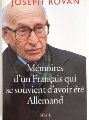 rovan-memoires français-allemand